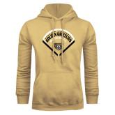 Champion Vegas Gold Fleece Hoodie-Golden Grizzlies Baseball Diamond