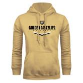 Champion Vegas Gold Fleece Hoodie-Golden Grizzlies Baseball Plate
