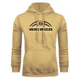 Champion Vegas Gold Fleece Hoodie-Golden Grizzlies Basketball Half Ball