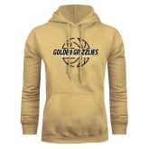 Champion Vegas Gold Fleece Hoodie-Golden Grizzlies Basketball Lines