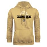 Champion Vegas Gold Fleece Hoodie-Golden Grizzlies Volleyball Half Ball