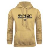 Champion Vegas Gold Fleece Hoodie-Softball Stencil