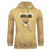 Champion Vegas Gold Fleece Hoodie-Oakland University Softball Plate