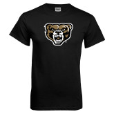 Black T Shirt-Grizzly Head