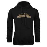 Black Fleece Hoodie-Arched Golden Grizzlies