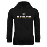 Black Fleece Hoodie-Golden Grizzlies Two Tone