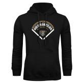 Black Fleece Hoodie-Golden Grizzlies Baseball Diamond