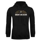 Black Fleece Hoodie-Golden Grizzlies Basketball Half Ball