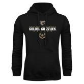 Black Fleece Hoodie-Golden Grizzlies Soccer Icon