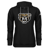 Adidas Climawarm Black Team Issue Hoodie-Grizzly Head