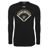 Under Armour Black Long Sleeve Tech Tee-Golden Grizzlies Baseball Diamond