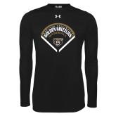 Under Armour Black Long Sleeve Tech Tee-Golden Grizzlies Baseball Diamond