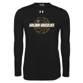 Under Armour Black Long Sleeve Tech Tee-Golden Grizzlies Basketball Lines