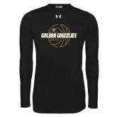 Under Armour Black Long Sleeve Tech Tee-Golden Grizzlies Basketball Lines