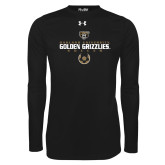 Under Armour Black Long Sleeve Tech Tee-Golden Grizzlies Soccer Icon
