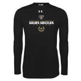 Under Armour Black Long Sleeve Tech Tee-Golden Grizzlies Soccer Icon