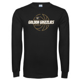 Black Long Sleeve T Shirt-Golden Grizzlies Basketball Lines