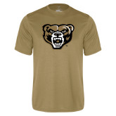 Performance Vegas Gold Tee-Grizzly Head