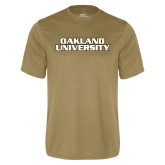 Performance Vegas Gold Tee-Oakland University