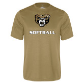 Performance Vegas Gold Tee-Softball