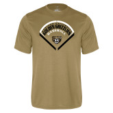 Performance Vegas Gold Tee-Golden Grizzlies Baseball Diamond