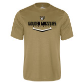 Performance Vegas Gold Tee-Golden Grizzlies Baseball Plate