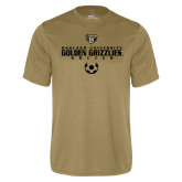 Performance Vegas Gold Tee-Golden Grizzlies Soccer Icon