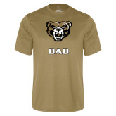 Performance Vegas Gold Tee-Dad