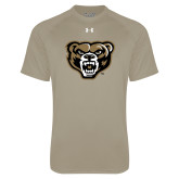 Under Armour Vegas Gold Tech Tee-Grizzly Head