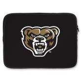 15 inch Neoprene Laptop Sleeve-Grizzly Head
