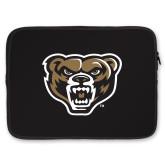 15 inch Neoprene Laptop Sleeve-Grizzly Head
