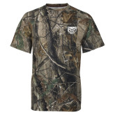Realtree Camo T Shirt-Grizzly Head