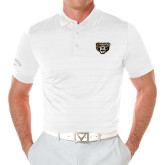 Callaway Opti Vent White Polo-Grizzly Head