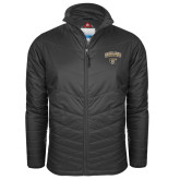 Columbia Mighty LITE Black Jacket-Oakland University with Grizzly Head