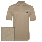 Vegas Gold Dry Mesh Polo-Oakland University with Grizzly Head