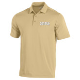 Under Armour Vegas Gold Performance Polo-Golden Grizzlies Stacked
