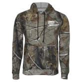 Realtree Camo Fleece Hoodie-Grizzly Head
