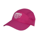 Pink Pace Setter Cap-Grizzly Head