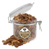Deluxe Nut Medley Round Canister-Grizzly Head