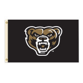 3 ft x 5 ft Flag-Grizzly Head