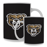 Full Color White Mug 15oz-Grizzly Head