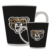 Full Color Latte Mug 12oz-Grizzly Head