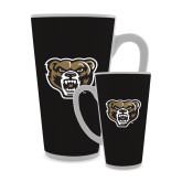 Full Color Latte Mug 17oz-Grizzly Head