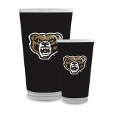 Full Color Glass 17oz-Grizzly Head