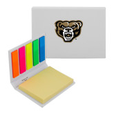 Micro Sticky Book-Grizzly Head