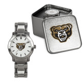 Mens Stainless Steel Fashion Watch-Grizzly Head