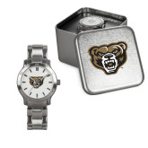 Ladies Stainless Steel Fashion Watch-Grizzly Head