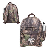 Heritage Supply Camo Computer Backpack-Grizzly Head