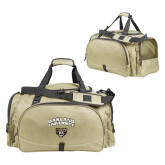 Challenger Team Vegas Gold Sport Bag-Oakland University with Grizzly Head
