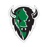 Medium Decal-Charging Bison, 8 inches tall